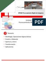 MT420 Unidad 5 Procesamiento Morfológico 2018-2