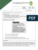 TALLER DE ORTOGRAFÍA USO DE LAS LETRAS PARA GRADO11