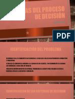8 ETAPAS DEL PROCESO DE DECISIÓN