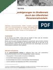 Leistungssteigerungen im Straßennetz durch den öffentlichen Personennahverkehr - Korrektur