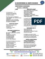 CANTOS PARA EL ROSARIO 2