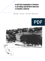 Blue oak plant communities of southern San Luis Obispo and northern Santa Barbara Counties