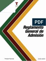 5_MV4_Reglamento General de Admisión_V5 - vigente
