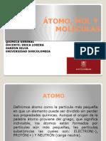 ATOMO, MOLECULAS