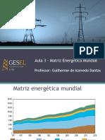 Desafios da Política Energética - Aula 3