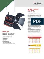 Ficha Tecnica - STUDIO FRESNEL LED  200W (1).pdf