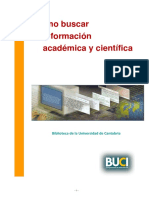 Cómo buscar información académica y científica