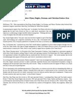 Flynn, Hughes, Berman, and Christian Endorse Ken Paxton for Speaker