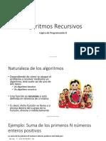 06 - Algoritmos Recursivos