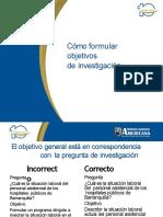 CÓMO FORMULAR OBJETIVOS DE INVESTIGACIÓN.pptx ok (1)
