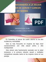 CUIDADO ENFERMERÍA A LA MUJER CON CANCER DE CERVIX Y DE MAMA.pptx