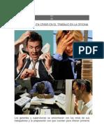Intervención en crisis en el trabajo