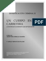 Trabajo Investigacion Criminal II, Cogil 2020, Jaider