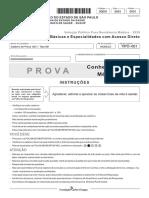 Prova do SUS-SP 2020 residência médica
