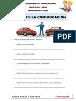 LA COMUNICACION SESION 2 PRACTICA