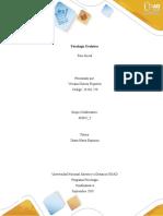 Matriz fase inicial - psicologia Evolutiva