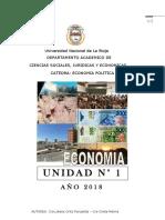 UNIDAD 1 MANUAL DE CATEDRA ECONOMIA