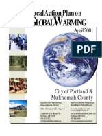 Local Action Plan on GW April 2001