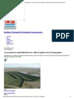 Características edafoclimáticas los valles irrigados de la Norpatagonia _ Instituto Nacional de Tecnología Agropecuaria
