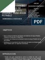 NORMA DE DISEÑO DE SISTEMAS DE ABASTECIMIENTO URBANO