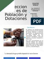 Proyecciones de Población y Dotaciones