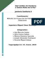 Métodos de Proyección de Poblaciones y Dotaciones CUESTIONARIO