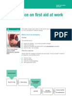 Indg347 HSE Basic Advice First Aid at Work