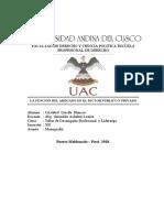 CRISTOBAL LLOCLLE HANCCO- FUNCION DEL ABG- EN EL SECTOR PUBLICO Y PRIVADO