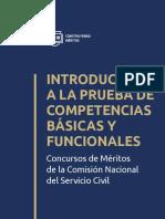 Cartilla 032 Introduccion a La Prueba de Competencias Basicas y Funcionales