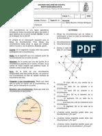 1P Taller N°01 Elementos de la circunferencia