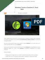 Cómo Instalar Windows 7 junto a Canaima 5 _ Dual-Boot - SoporteCanaima