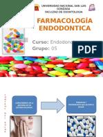 FARMACOLOGIA ENDODONTICA EXPOSICION NUEVO