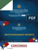 INSITUTCIONALIDAD Y DEPORTE.pptx