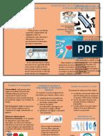 Actividad 5 - Evaluativa Folleto Normas y principios de bioseguridad en personal de enfermería.