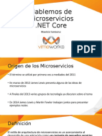 Microservicios en net Core