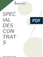 DROIT SPECIAL DES CONTRATS
