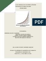 PREINFORME  PRACTICA DE VERTEDEROS DE PARED DELGADA-HSAP+30
