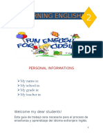 LEARNING ENGLISH 2