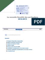 La-nouvelle-fiscalite-des-particuliers-2012-2013-cours
