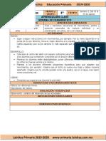 Agosto - 1er Grado Artes (2019-2020)