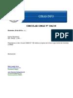 Circular CIMAS-N.106