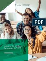 Informe de Gestión Responsable 2018