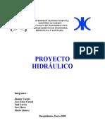 Proyecto hidraulico 1ra entrega