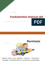 Fundamentos teóricos del currículo (1)