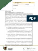 Plantilla protocolo individual Calidad y Auditoria