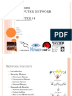 Chapter 14 Network Security - Computer Network