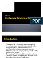 2 - Customer Behaviour Models