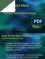 Local Referral Marketing, Step 1