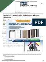 Divórcio Extrajudicial – Guia Passo a Passo Completo - Jus.com.br _ Jus Navigandi