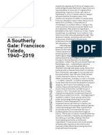 Cuauhtémoc Medina A Southerly Gale- Francisco Toledo, 1940–2019